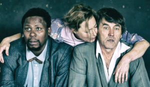 Jennifer Steyn (centre) in 'The Inconvenience of Wings'