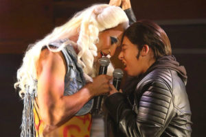 Paul du Toit and Genna Galloway in 'Hedwig and the Angry Inch'