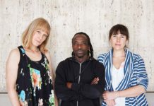 Sophie Woolley, Andile Vellem and Gemma Fairley. Picture Bubblegum Club