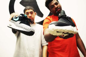 Sneaker Exchange_Directors Zaid Osman and Tebogo Mogola_Picture Warren Papier of THEY KNOW