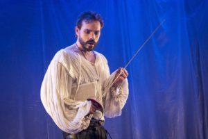 Marcel Meyer as Hamlet