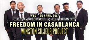 Forgotten Freequencies celebrates Freedom in Casablanca – vinyl DJs, Winston Siljeur Collective