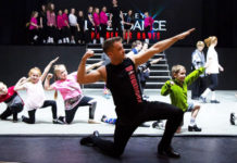 Pop-Up Michael Flatley Dance Academy Workshops at 2017 South Africa tour of Lord of the Dance: Dangerous Games