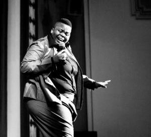 Asanda Mqiki sings at Olympia Bakery. Picture: Loyiso Mali