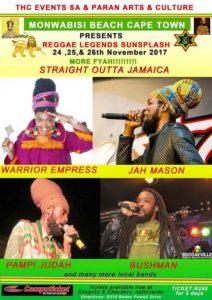 Monwabisis reggae Straight Outta Jamaica