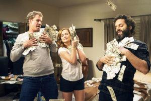 Will Ferrell, Amy Poehler and Jason Mantzoukas