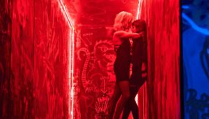 Atomic Blonde Charlize Theron, director David Leitch John Wick
