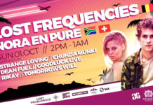 Lost Frequencies, Nora en Pure will headline for one night at Shimmy Beach Club Cape Town