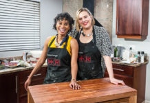 """Nicole and Zamatonga kicked their Instant Restaurant – appropriately named """"Coast"""". My Kitchen Rules SA is broadcast on M-Net channel 101 every Sunday night at 18:00"""