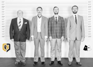 Nigel Stevenson, Wayne Ronné, Bryan Look and Willie Blignaut