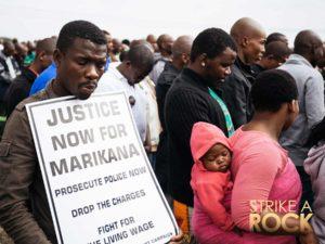 Strike a Rock, an award winning documentary about the women (womxn) of Marikana