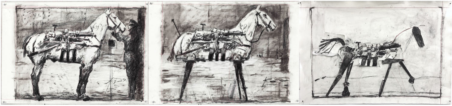 William Kentridge's That Which We Do Not Remember marks the year-end at Goodman Gallery Cape Town.