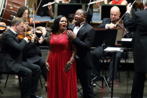 Lukhanyo Moyake (tenor) and Siphamandla Yakupa (soprano)