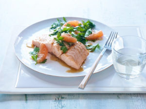 Grapefruit and Honey Salmon Chopped S31 DStv: Food Network Channel 175