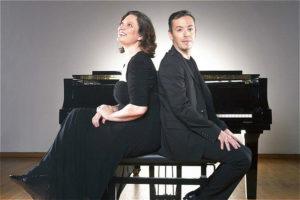 TwoPianists Luis Magalhães Nina Schumann