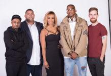 Good Hope FM remixed line-up of on-air presenters: Nigel Pierce, Stan Mars, Leigh-Anne Williams, Kaya 'Kyeezi' Siyengo and Dan Corder.