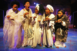 G7: Okwe-Bokhwe (like or of a goat) directed by Mandla Mbothwe. Picture: Mark Wessels