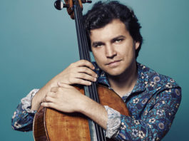 Cellist Alexander Buzlov, plays Lalo, South Africa
