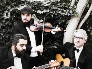 Hot Club of Cape Town at Sunday Wine Set concert series at Marianne Wine Estate