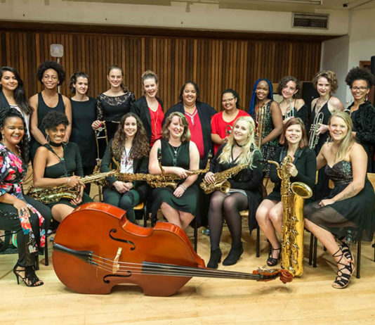 Lady Day Big Band appear at the Jazz Masters Series