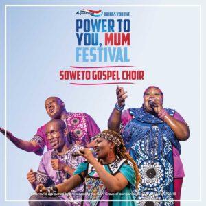 The Soweto Gospel Choir sing at Aquafresh Power To You Mum Festival