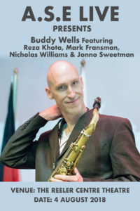 Saxophonist Buddy Wells