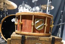 Jason Oosthuizen Marshall Music signature snare drum range