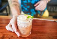 Crafted Paloma signature cocktail Altos Tequila MIXOLOGY BAR
