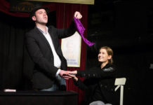 Magician Greg Gelb returns for the Cape Town Magic Club's seventh Monday Night Magic season. Picture: Andrew Gorman