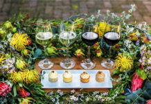 Delheim Wine and Fynbos Cupcake Pairing