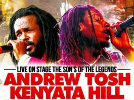 Andrew Tosh Kenyata Hill Tour