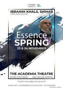 Pianist Ibrahim Khalil Shihab Essence of Spring album