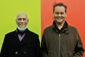 Pianist Ibrahim Khalil Shihab with Ramon Alexander