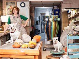 Kate Malone workshops - Ceramics Month Ceramics SA. Corobrik National Ceramics Biennale Ceramics SA Western Cape.