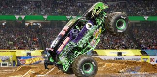 Monster Jams Grave Digger. Picture: Feld Entertainment