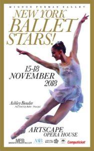 Mignon Furman Ballet ASHLEY BOUDER Principal Dancer New York City Ballet tickets