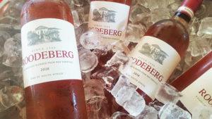 Fruity Roodeberg Rosé. Picture: Jane Mayne