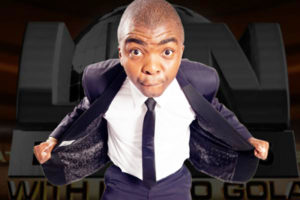 Comedian Loyiso Gola is at JICF 2019