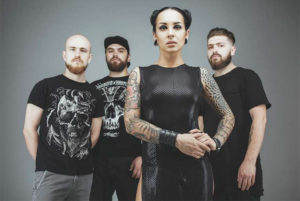 Jinjer from Ukraine. Picture: Veronika Gusieva
