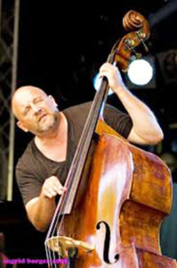 Double bassist Hein Van de Geyn who appears at Deep South Distillery