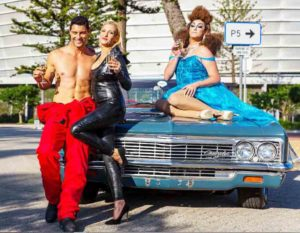 Ewan Strydom, Candice Heyns and Sasha Le Strange celebrate MCQP Presents Drag Race. Pictures: Joffrey Hyman