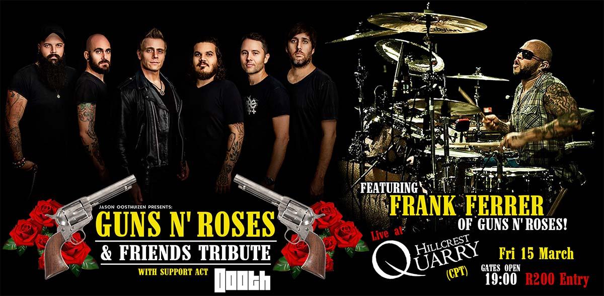 Guns n' Roses & Friends Frank Ferrer