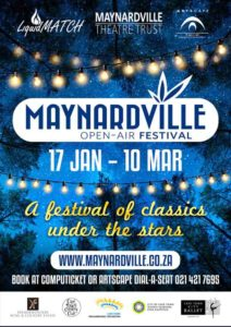 Cape Town Comedy Club presents Jesters in the Park Season 2 at Maynardville Open-Air Festival