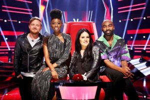 The Voice SA Season 3 judges Francois van Coke, Lira, Riana Nel, Riky Rick