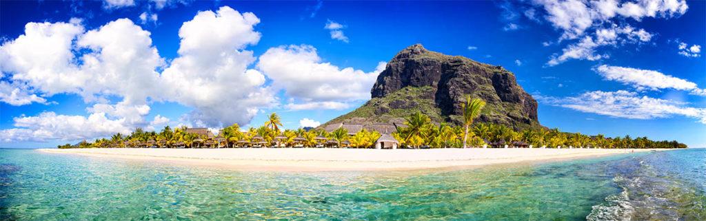 Travel Expo Flight Centre Mauritius beach