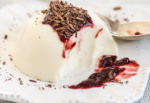 Panna Cotta paired with a Tia Maria Espresso Martini Picture: Faith Durand