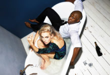 Vanessa Kirby and Eric Kofi Abrefa in NT Lives Julie at The Fugard. Picture: Rosaline Shahnavaz