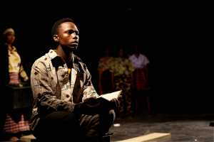 Siyabonga Jim in Ukuwa Kwe Nkaba - Zabalaza Theatre Festival 2019. Picture Sithembele Jnr