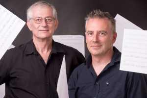 John Walton and Gavin Potter of Cinemagic Scoring, which facilitates the Timeshare Orchestra concept