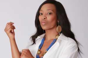 Nina played by Khabonina Qubeka on Isidingo
